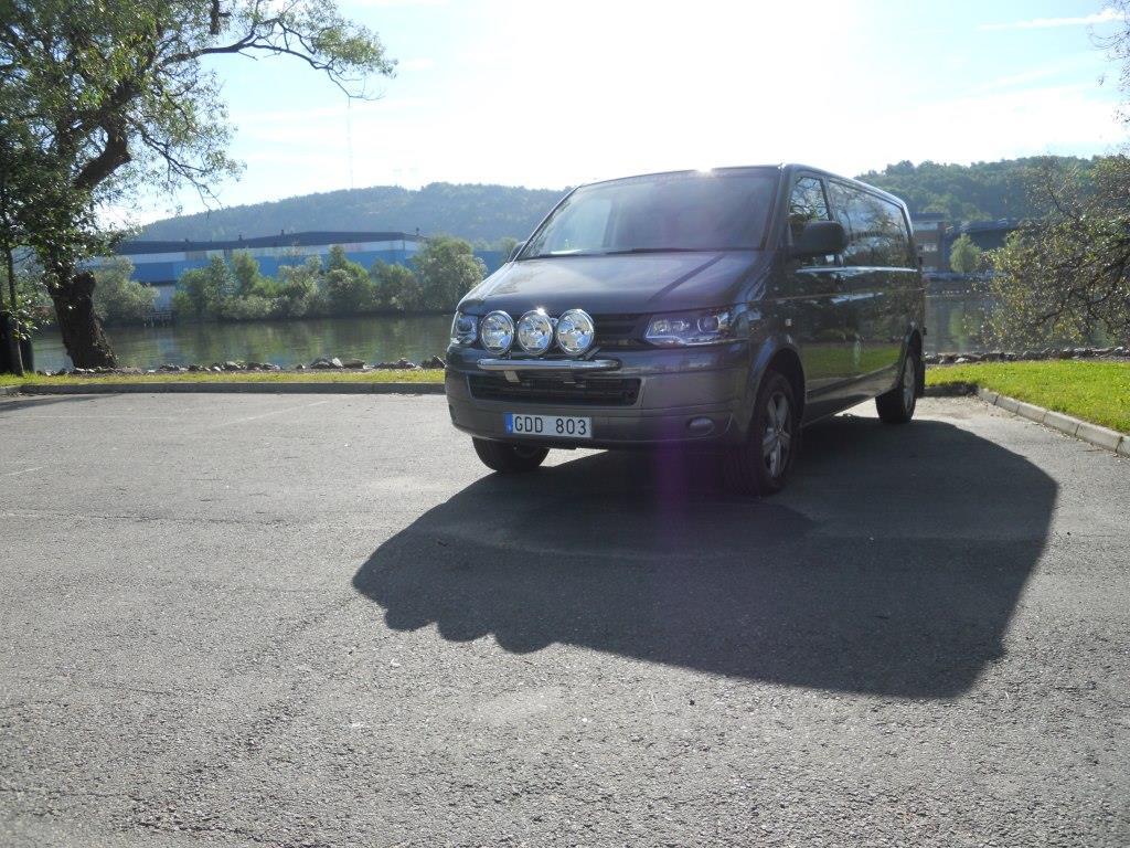 Extraljusbåge Smallbar VW T5 10-15-4325