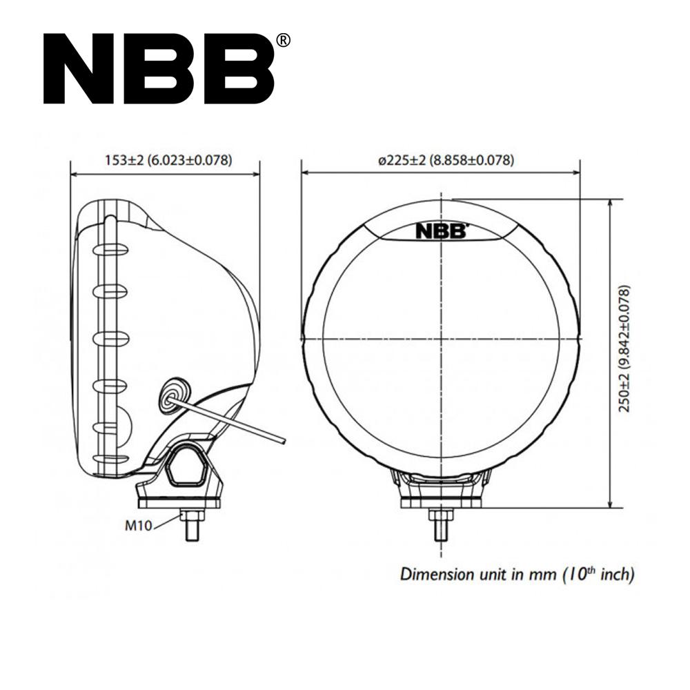 Extraljuspaket 4x NBB Alpha Halogen 225-7088