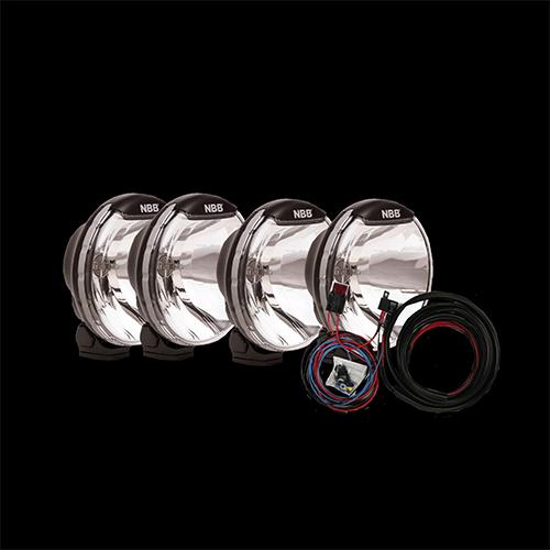 Extraljuspaket 4x NBB Alpha Halogen 225-4738