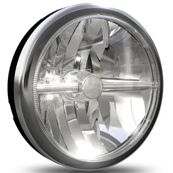 Cibié OSCAR LED chrome 180mm extraljus-0