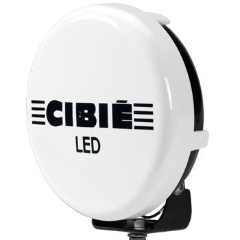 Cibié Super OSCAR LED chrome 230mm extraljus-5272