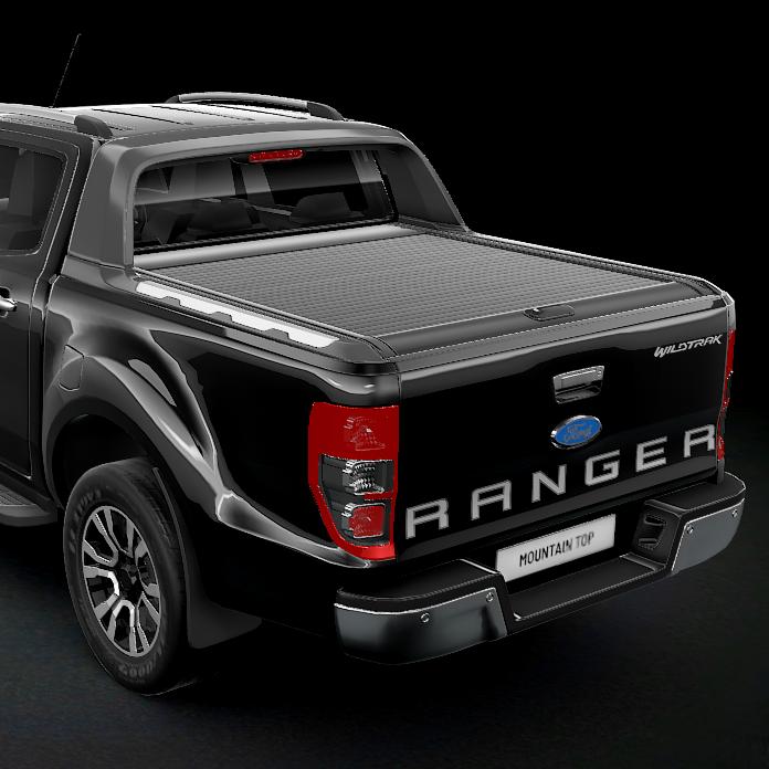 Rolltop MountainTop (Svart) Ford Ranger Wildtrack/Raptor-0