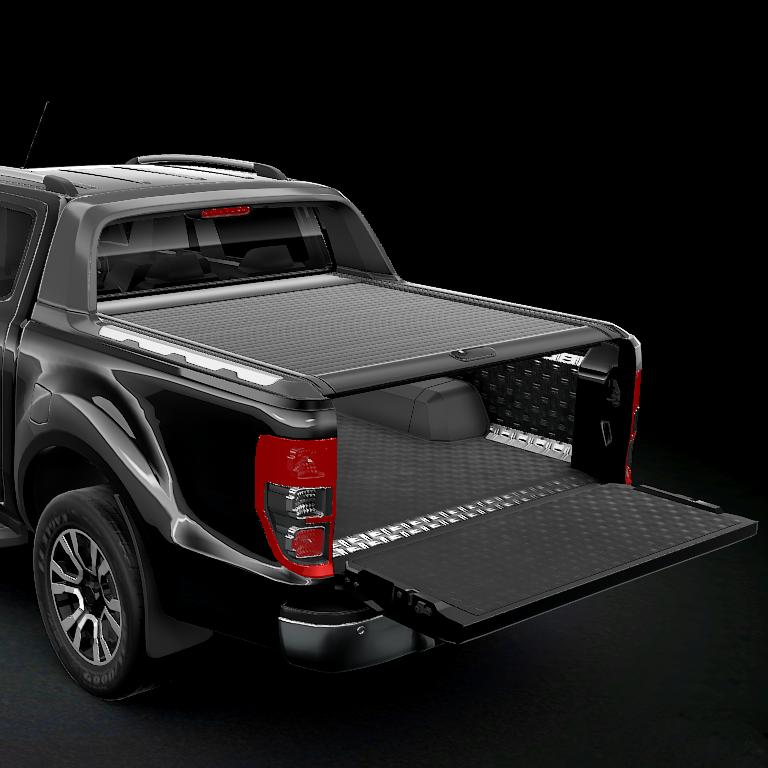 Rolltop MountainTop (Svart) Ford Ranger Wildtrack/Raptor-6675