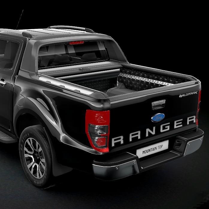 Rolltop MountainTop (Svart) Ford Ranger Wildtrack/Raptor-6676
