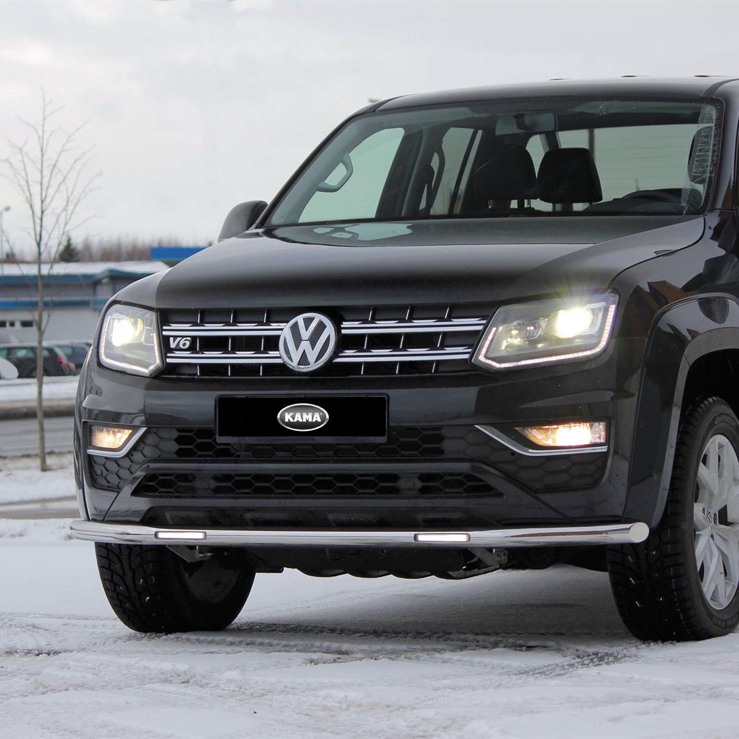 Frontrör DRL LED VW Amarok Aventura 2018+-0