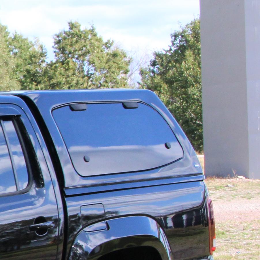 Flakkåpa Steeltop Nissan Navara-6558