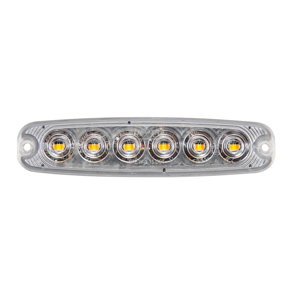 Blixtljus LED Superslim för rörmontage-0
