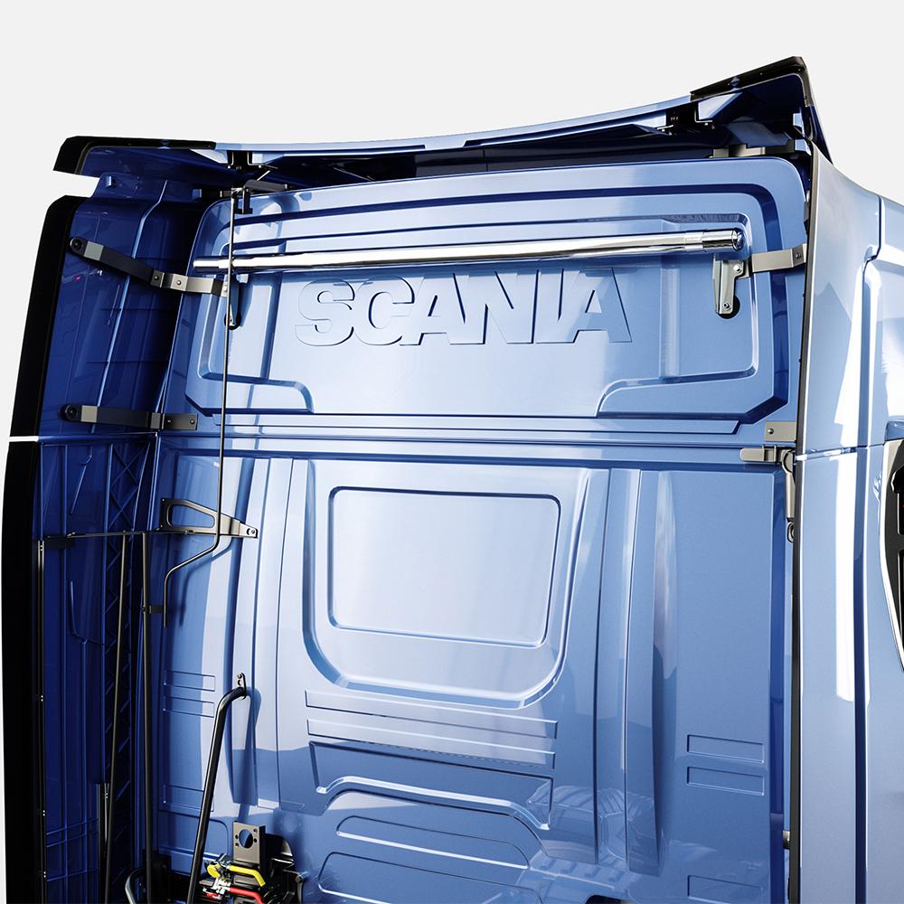 Arbetsbelysningsbåge bak Scania 17+-0