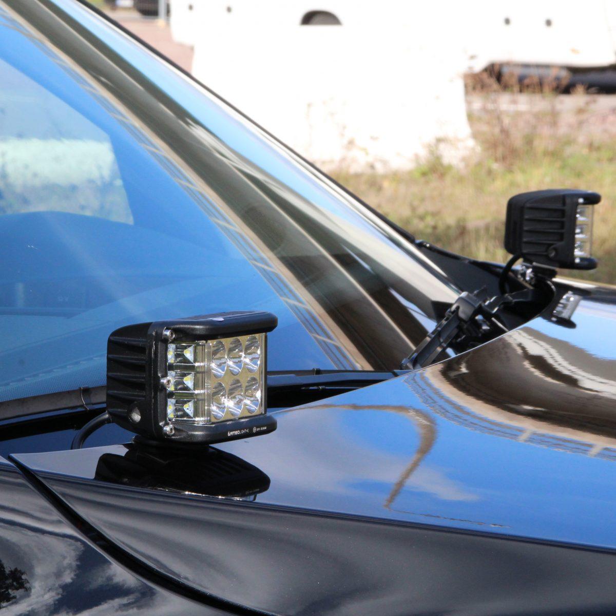 Sideshooter Arbetsbelysning 48W 2-pack-0