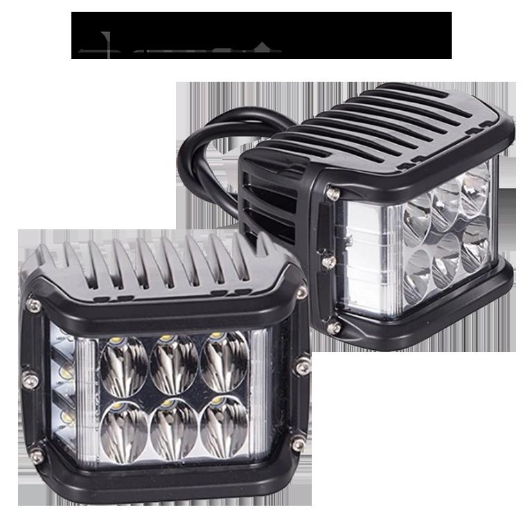 Sideshooter Arbetsbelysning 48W 2-pack-6848