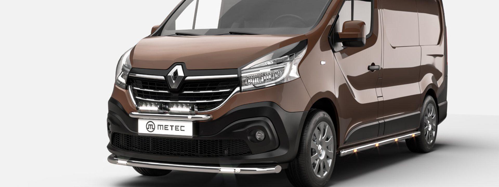 Renault Trafic med ny front bakgrundsbild