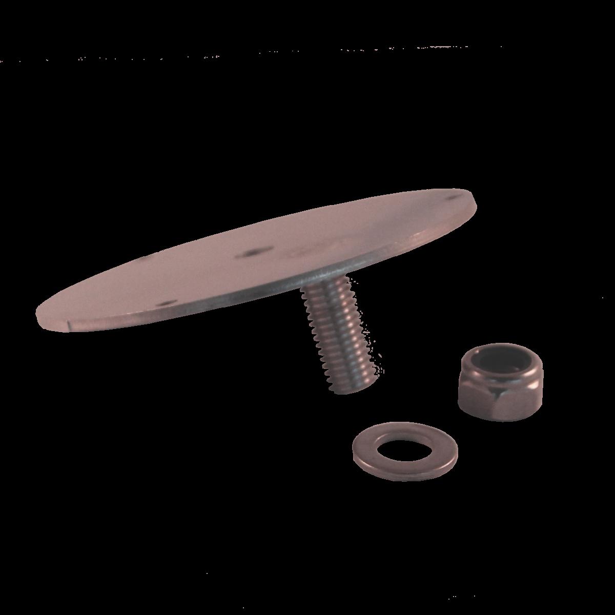 Rotorljusplatta Rostfri mini-0