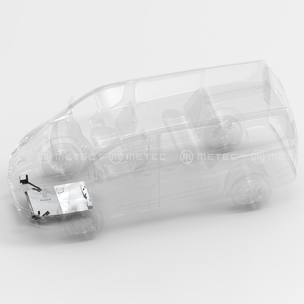 Underkörningsskydd motor Ford Transit 2019+-0