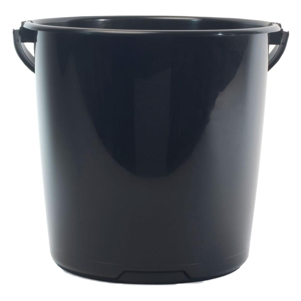 Svart hink 10 liter