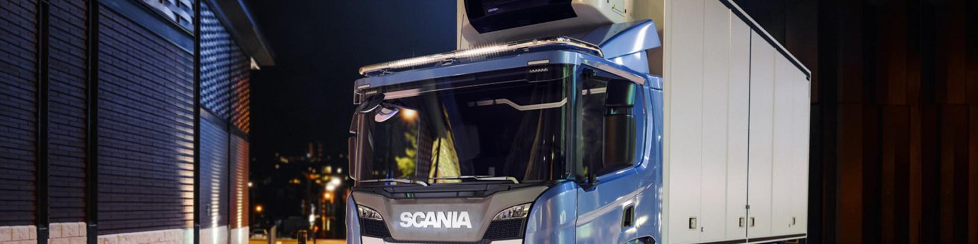 Extra Stöd för takbåge Scania 17+ bakgrundsbild