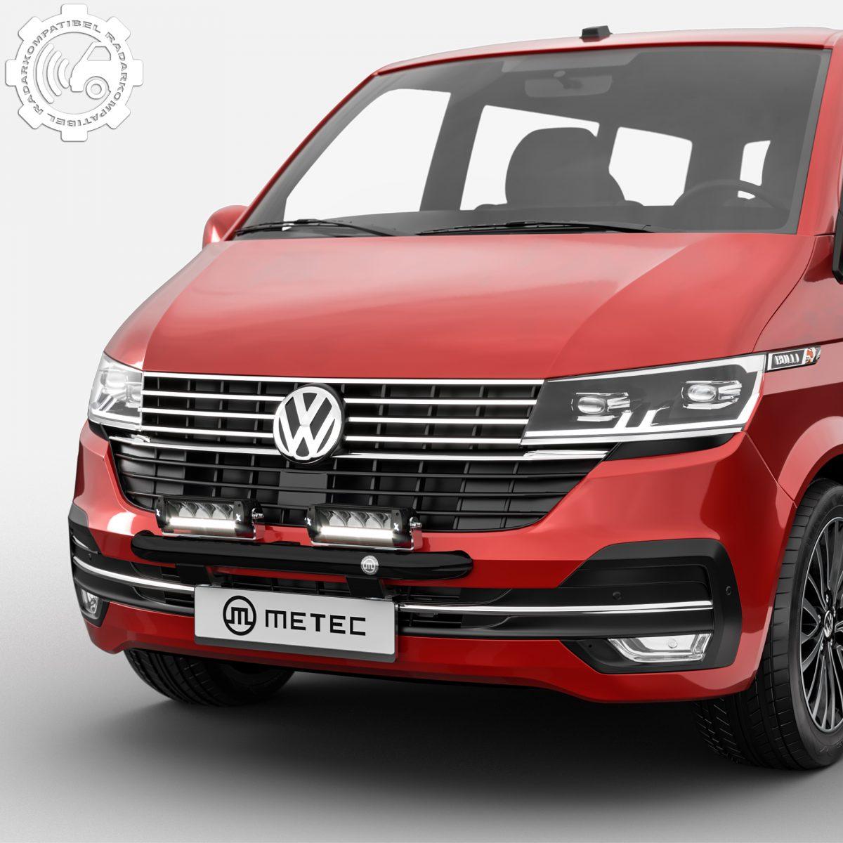 Extraljusbåge Smallbar Svart VW T6.1 2020+