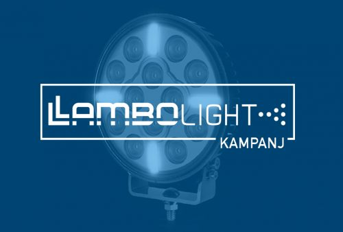 Extraljuspaket 2x LamboLight Cyclops LED 220 bakgrundsbild