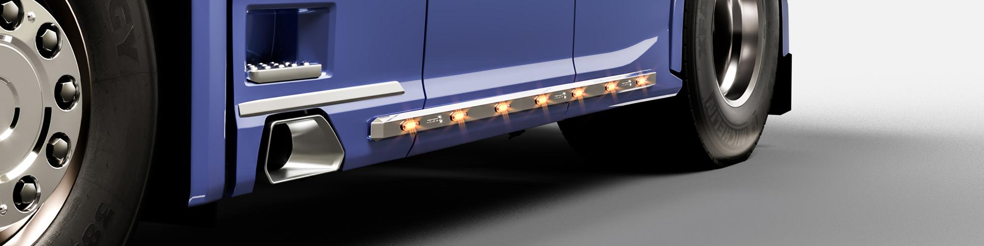 LED list 480mm Vit bakgrundsbild
